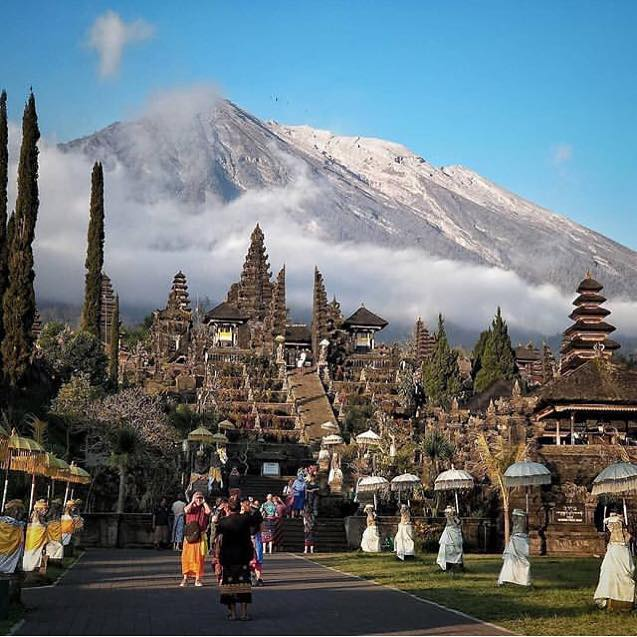 "Explore ""Odalan"" Ceremony at Besakih Temple Bali"