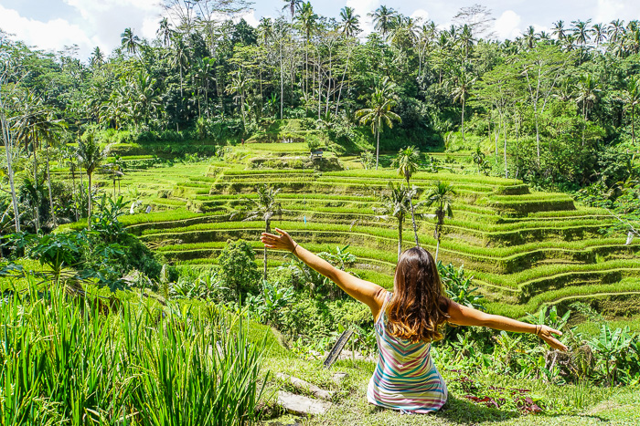The fascinating ubud & The green scenery of Tegallalang