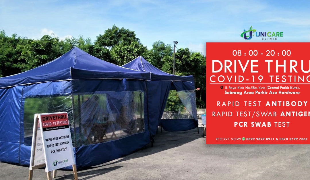 Drive-thru Covid-19 Test Centers in Bali? A Closer Look at the Urgency of it